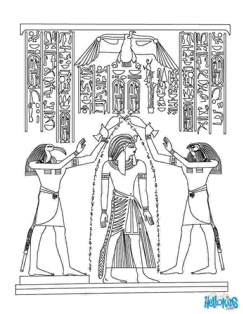 egyptian pictures to color free printable ancient egypt coloring pages for kids egyptian to color pictures