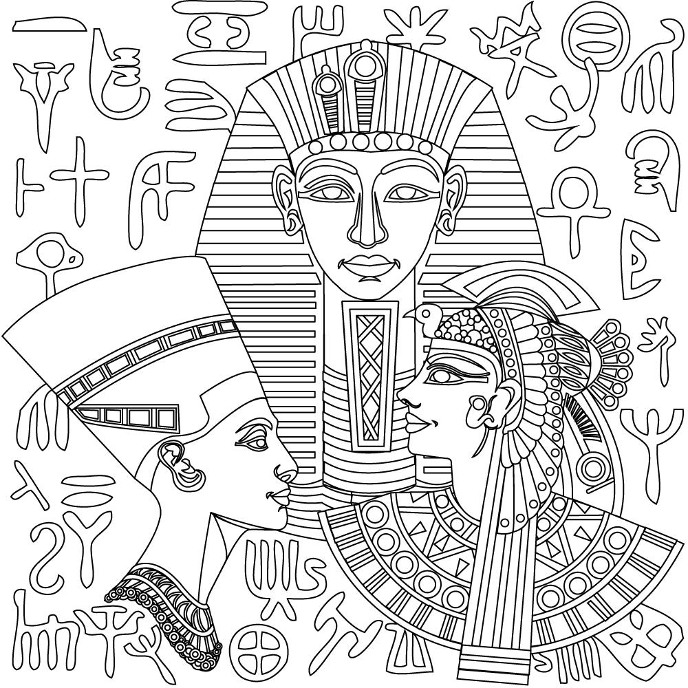 egyptian pictures to color isis para colorear diosa egipcia proyectos educativos egyptian color pictures to