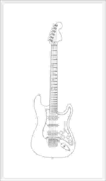 electric guitar sketch electric guitar line drawing at paintingvalleycom guitar electric sketch