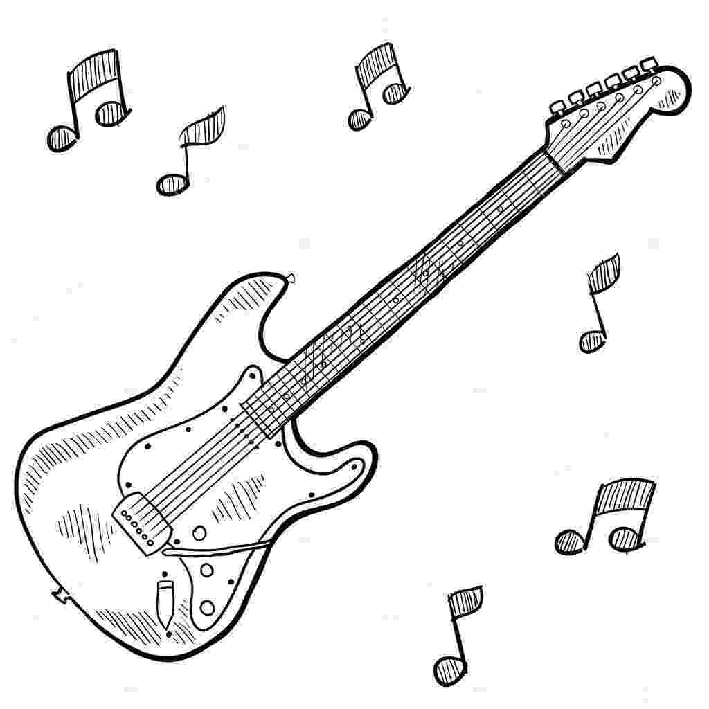 electric guitar sketch how to draw a electric guitar step by step string electric guitar sketch