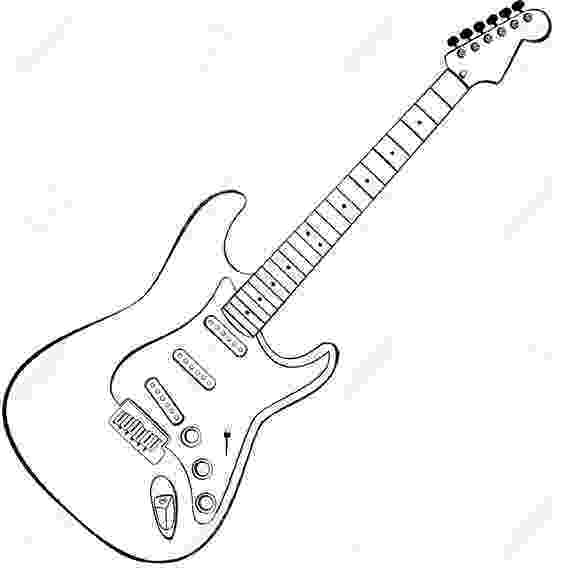 electric guitar sketch how to draw an electric guitar step by step drawing electric guitar sketch