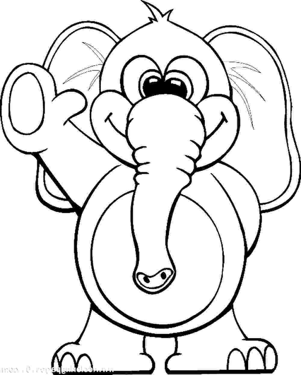 elephant color sheet baby elephant coloring pages animal elephant sheet color