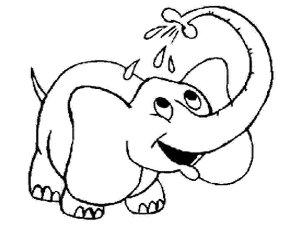 elephant color sheet baby elephant coloring pages getcoloringpagescom elephant color sheet