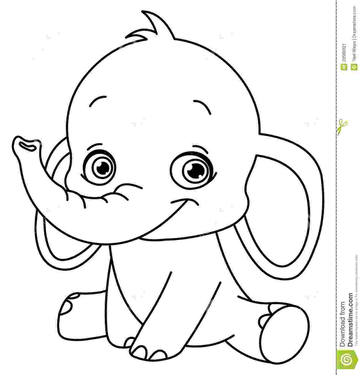 elephant color sheet baby elephant coloring pages getcoloringpagescom sheet elephant color