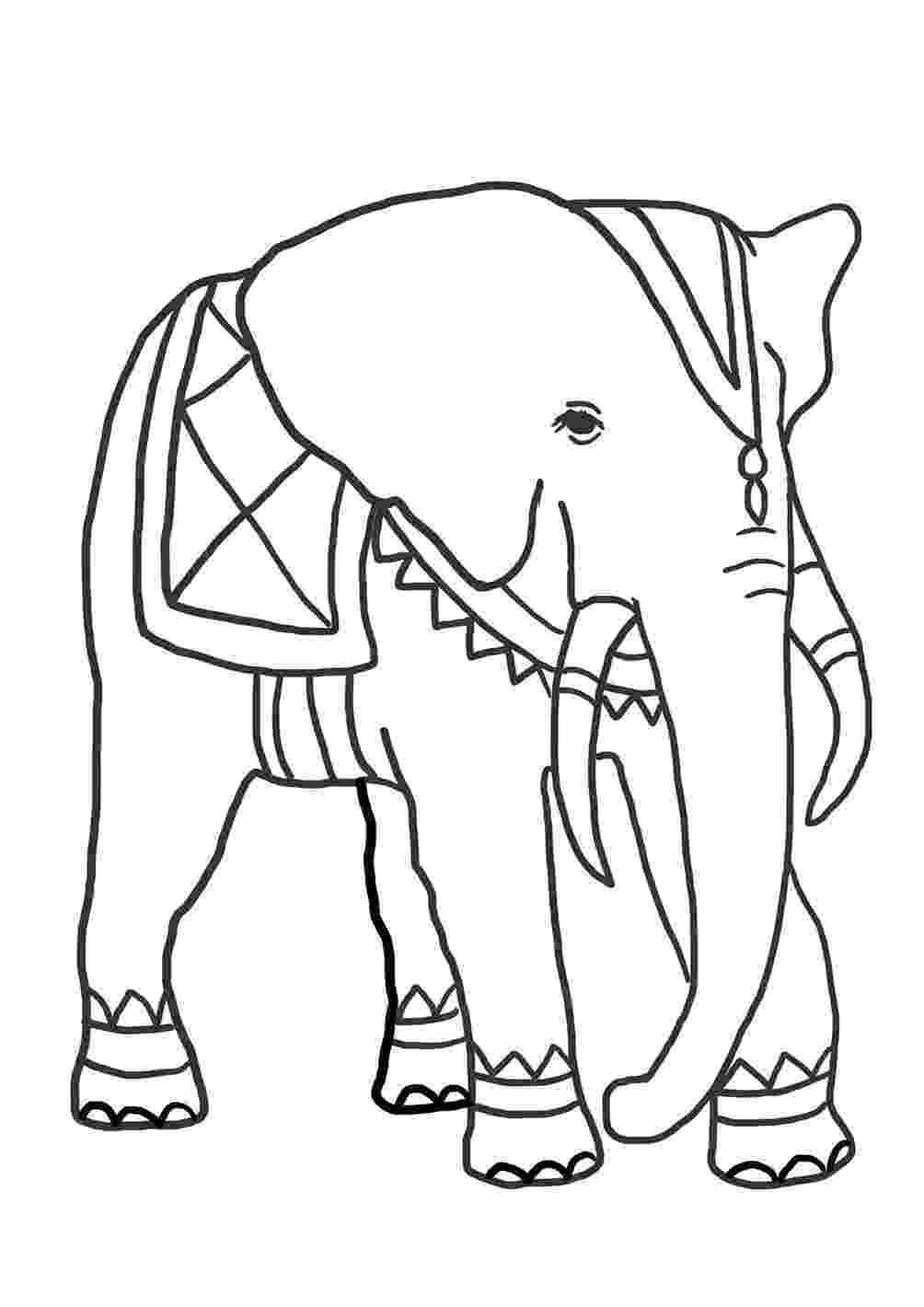 elephant color sheet elephant coloring pages for kids printable for free color sheet elephant 1 1