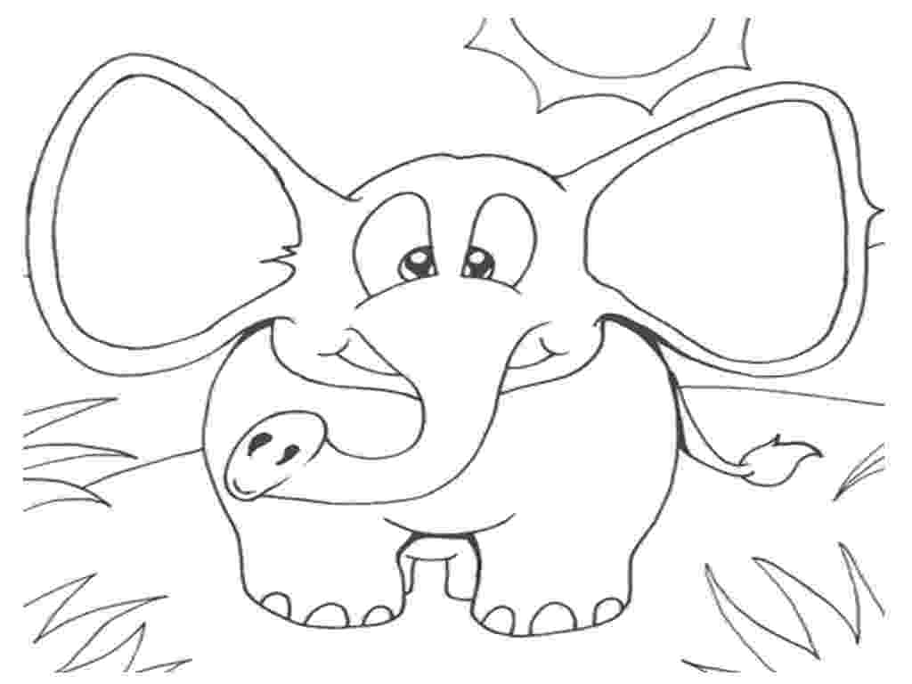 elephant color sheet elephant coloring pages free download on clipartmag elephant sheet color