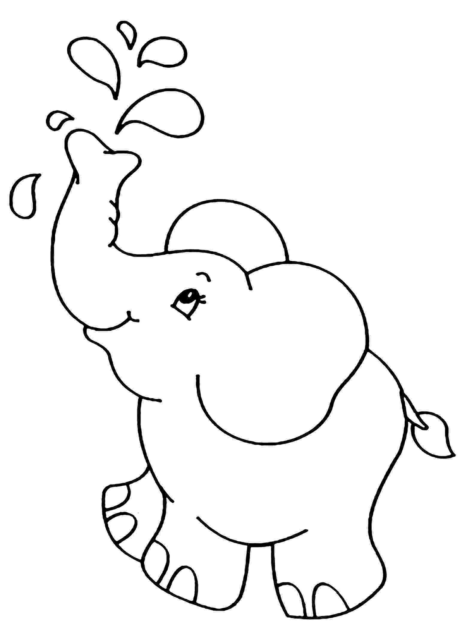 elephant color sheet elephants free to color for kids elephants kids coloring elephant color sheet