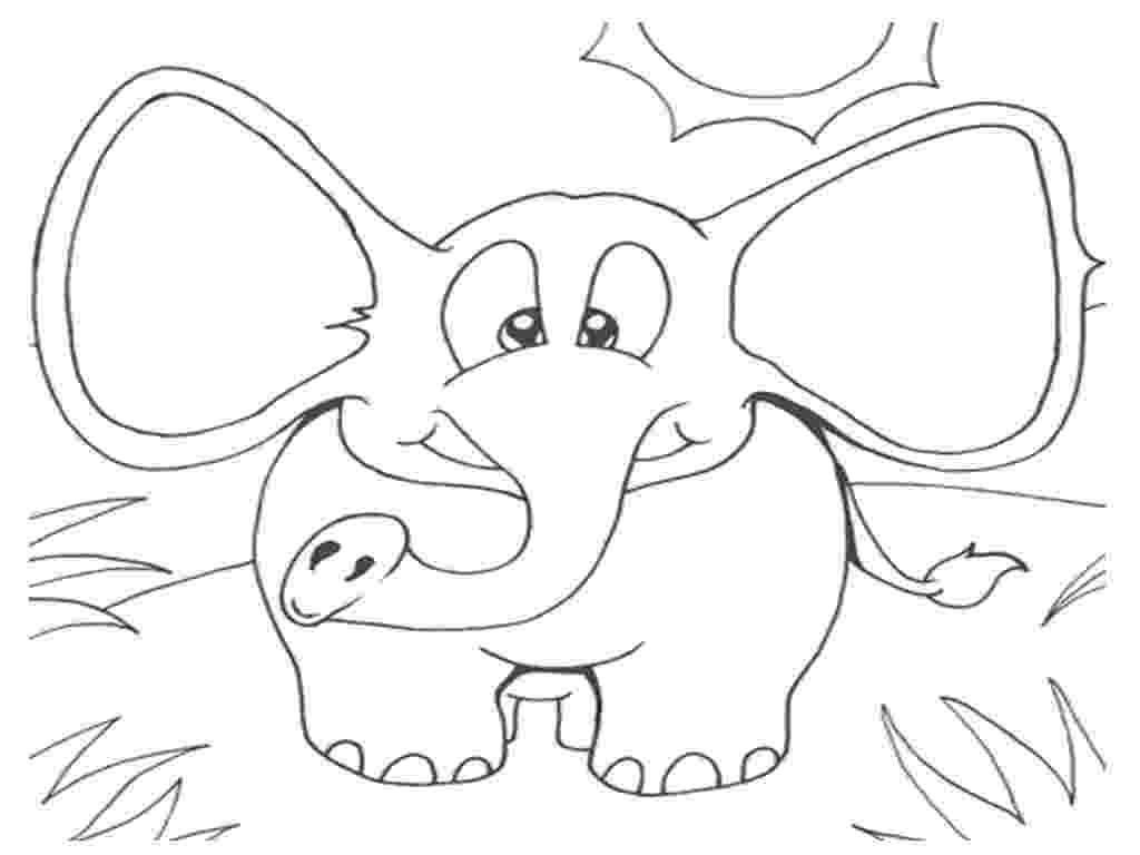 elephant coloring sheet baby elephant coloring pages getcoloringpagescom elephant sheet coloring