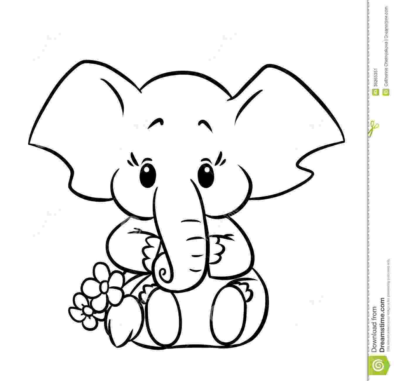 elephant coloring sheet baby elephant coloring pages getcoloringpagescom sheet elephant coloring