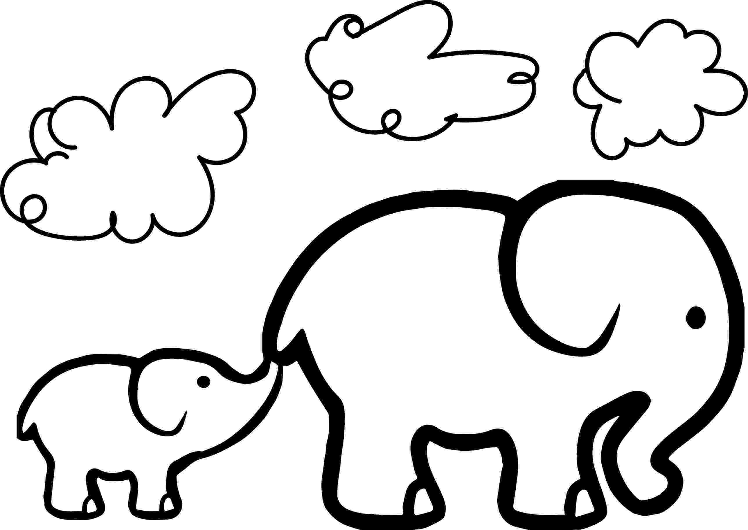 elephant coloring sheet elephant coloring pages free download on clipartmag coloring sheet elephant