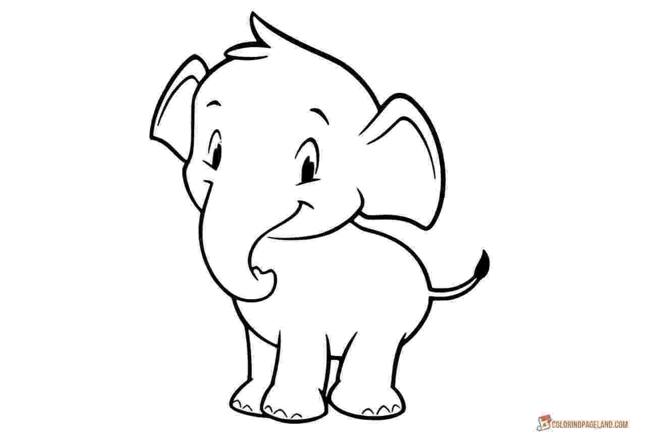 elephant coloring sheet transmissionpress baby elephant coloring pages sheet elephant coloring
