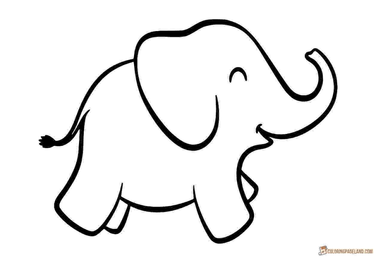elephant pictures to color coloring pages of elephants download and print for free pictures to color elephant