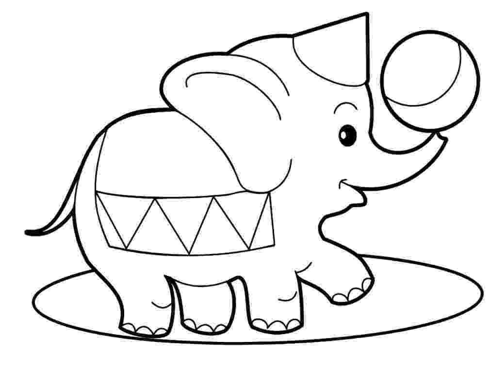 elephant pictures to color free elephant coloring pages elephant to pictures color 1 1