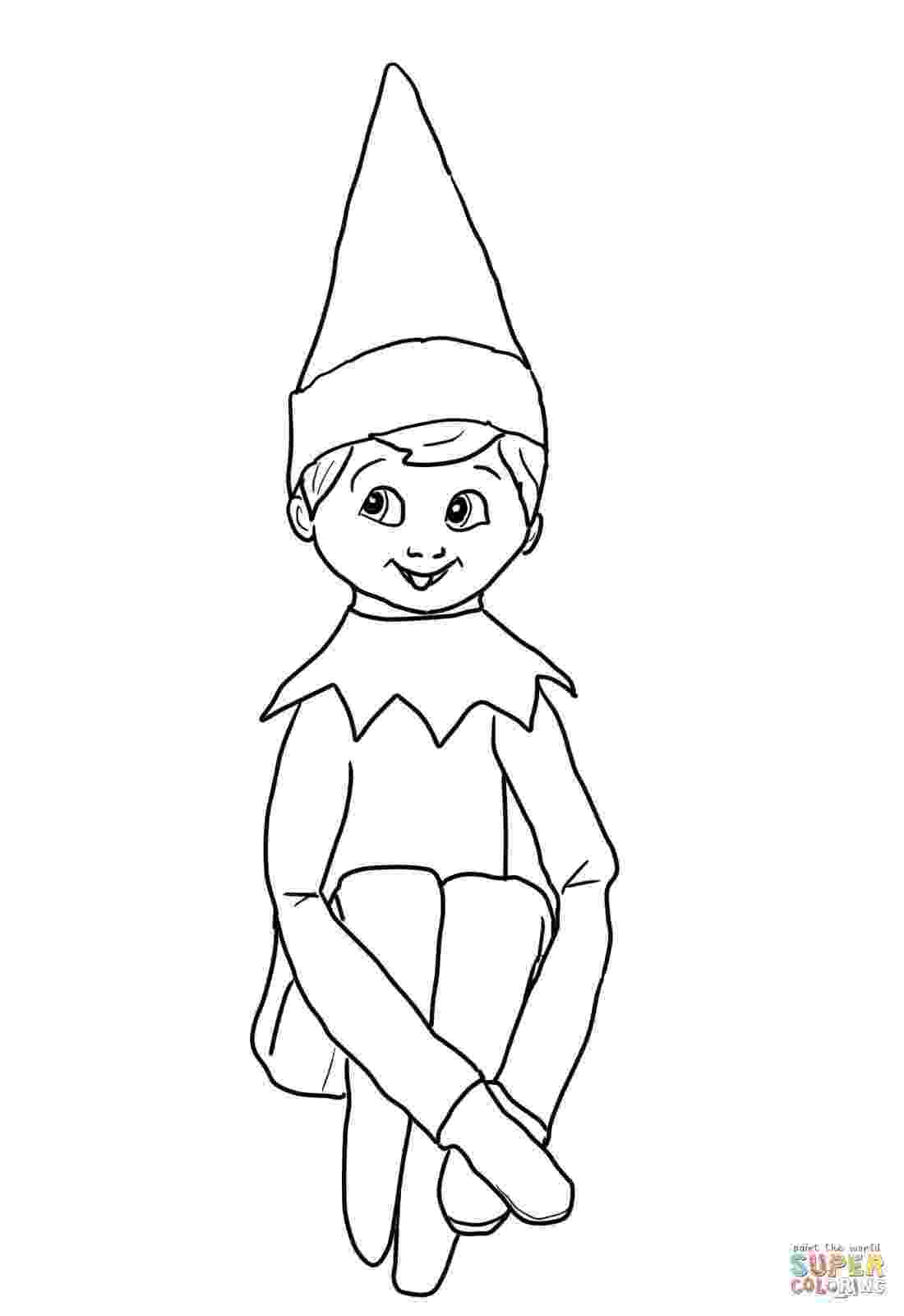 elf on the shelf coloring book elves on the shelf coloring page free printable coloring the shelf coloring elf on book
