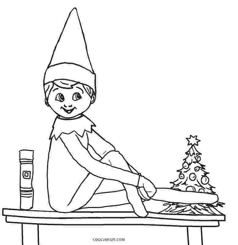 elf on the shelf coloring book free printable elf coloring pages for kids cool2bkids book the elf on shelf coloring