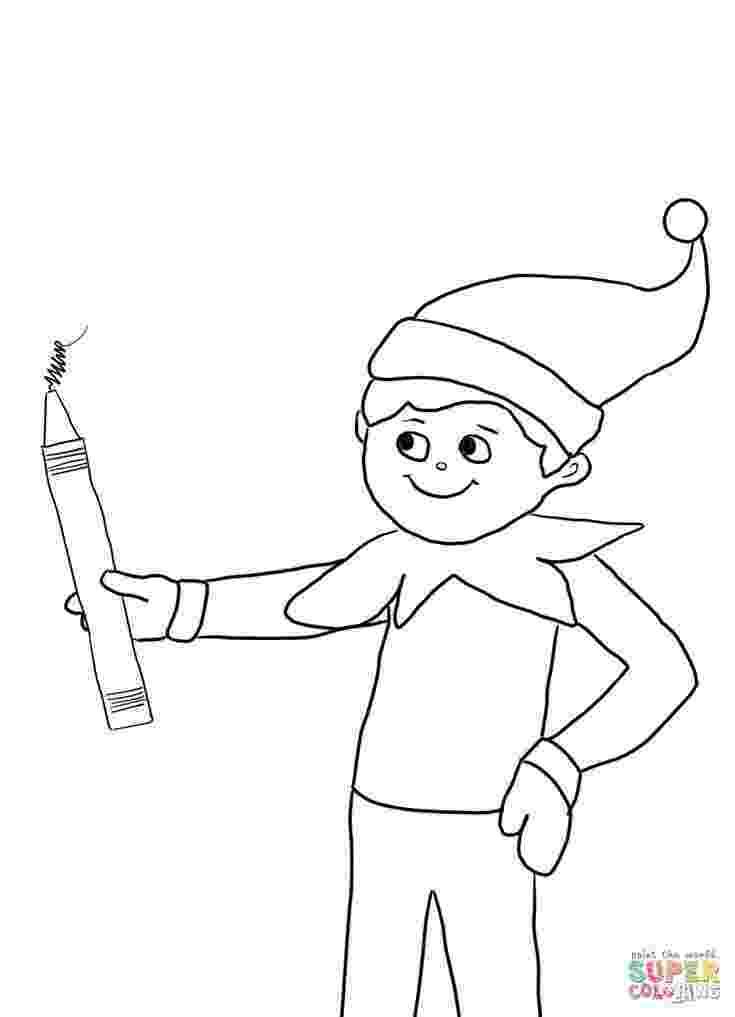 elf on the shelf coloring book free printable elf coloring pages for kids cool2bkids on shelf elf book the coloring