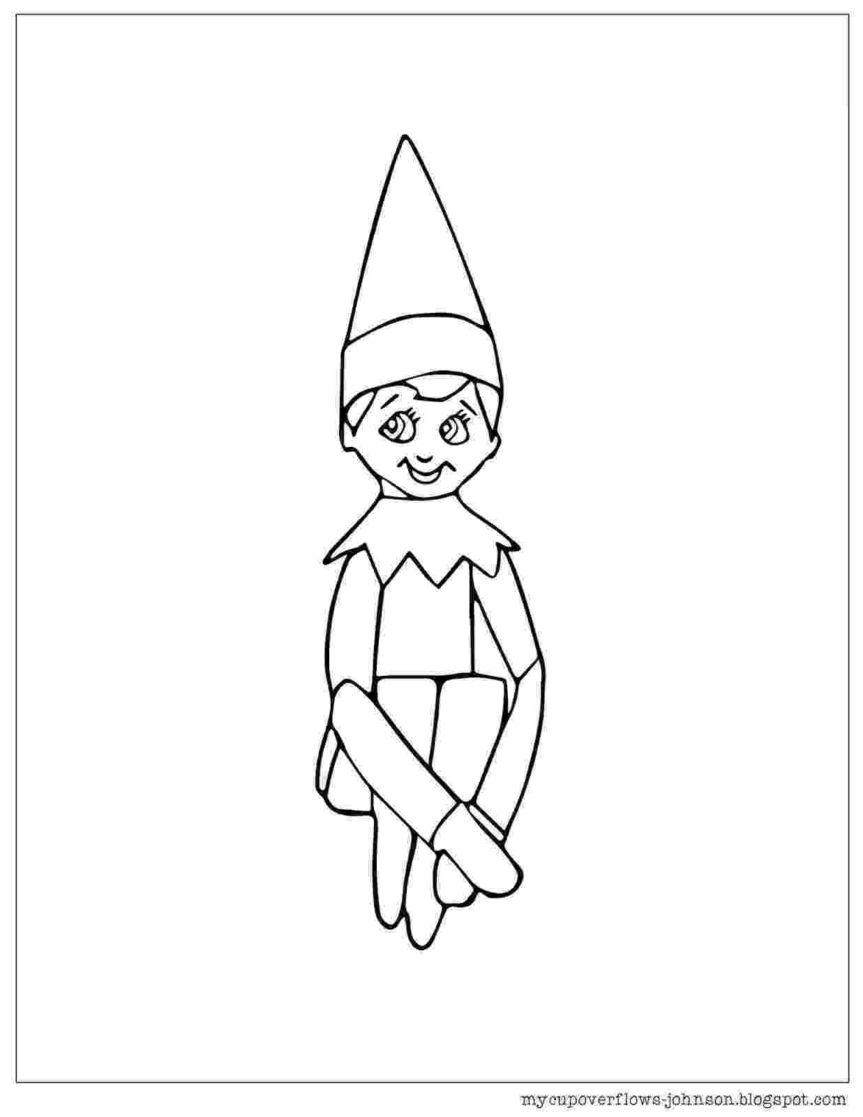elf on the shelf coloring book girl elf on the shelf coloring pages you might also be shelf on book elf coloring the
