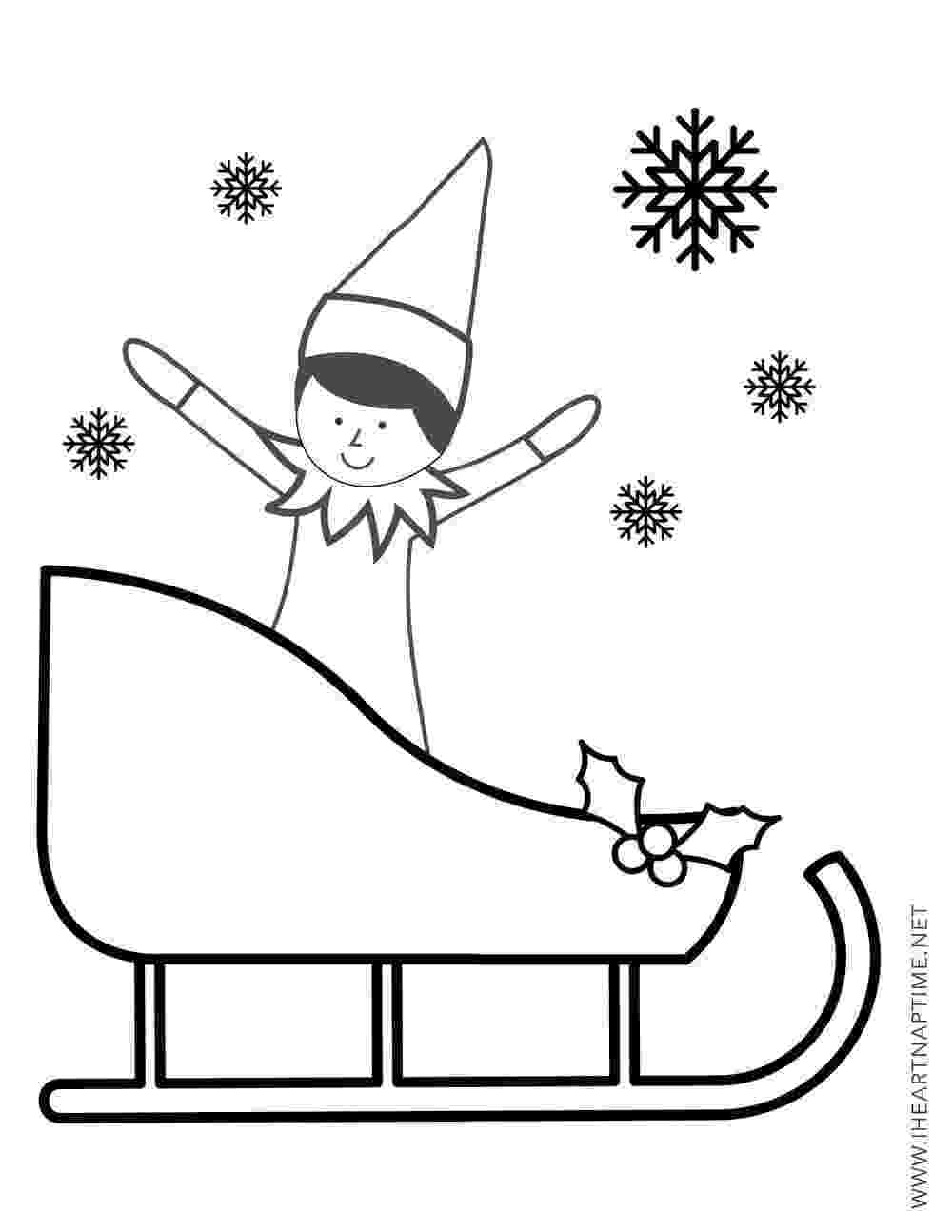elf on the shelf printable coloring pages 15 best coloring the on the shelf images on pinterest printable on elf pages the shelf coloring