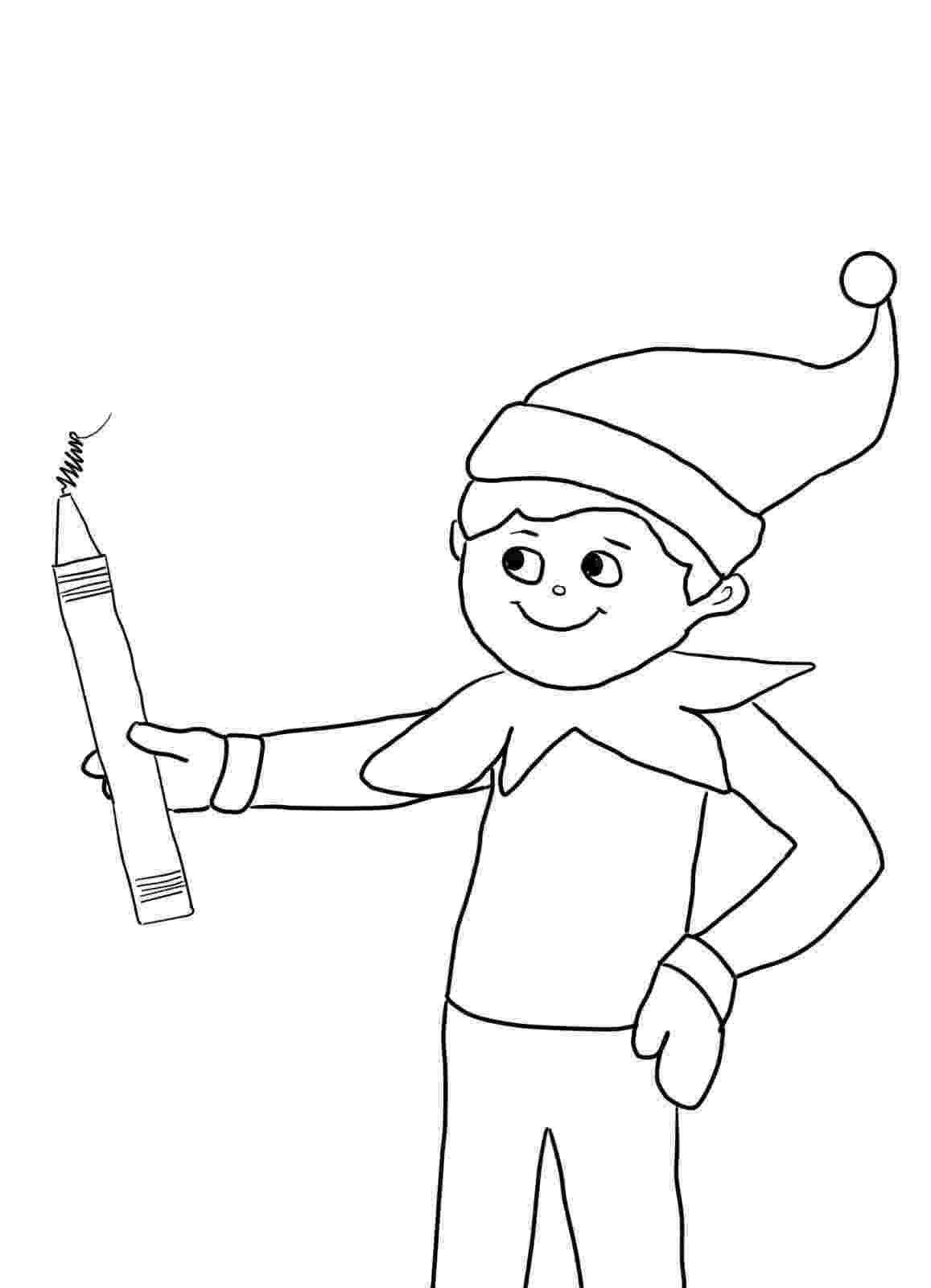 elf on the shelf printable coloring pages elf on the shelf coloring pages coloring pages for kids coloring elf shelf pages the on printable