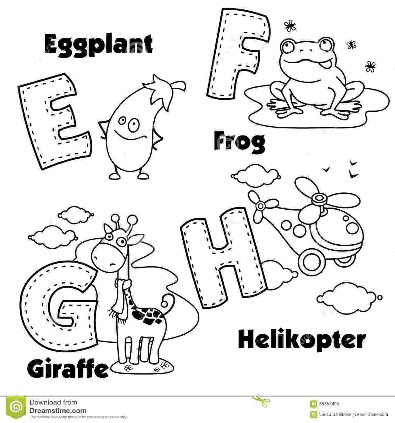 english alphabet coloring pages english alphabet and the letters e f g and h stock coloring alphabet pages english
