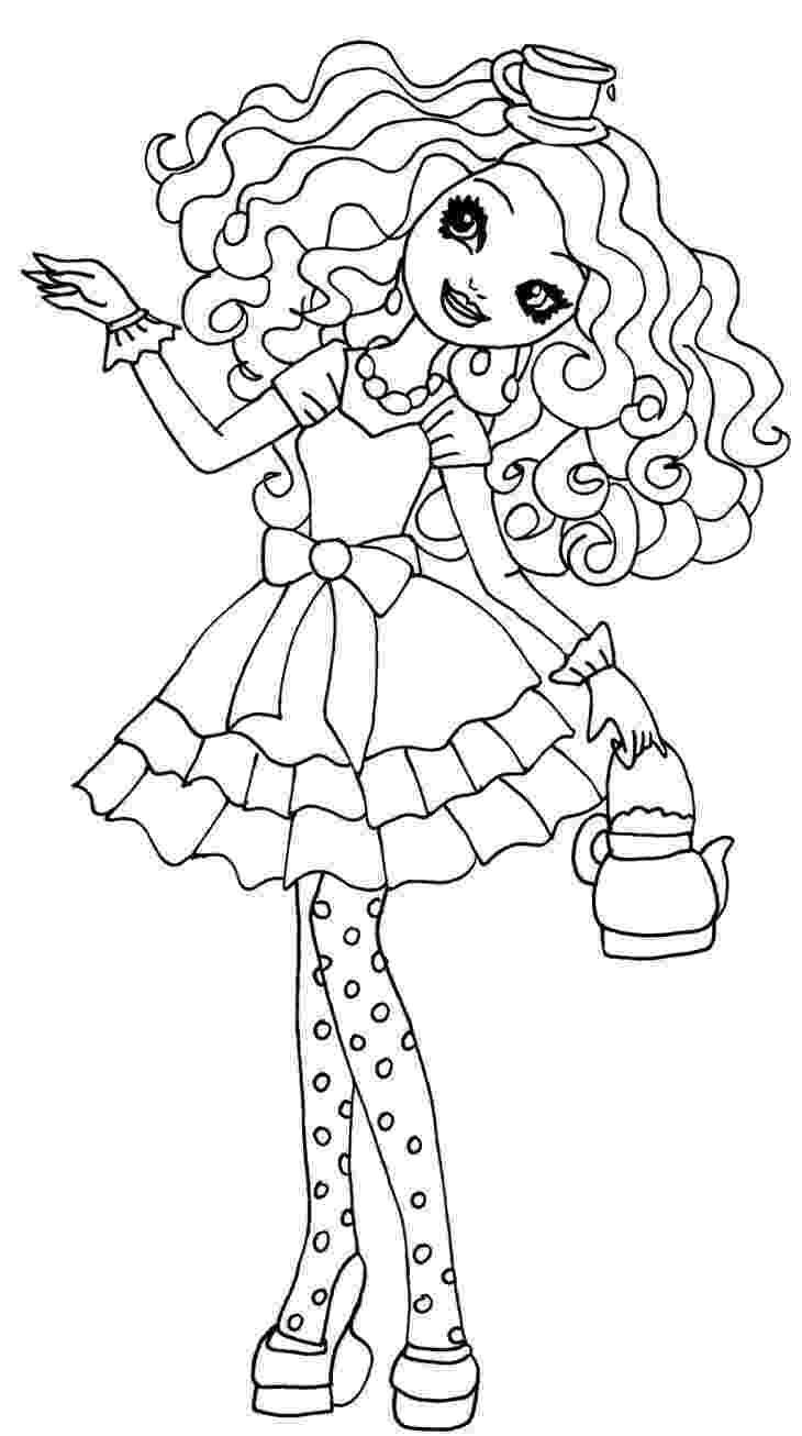 ever after coloring pages 54 best images about ever after high coloring pages on pages after ever coloring