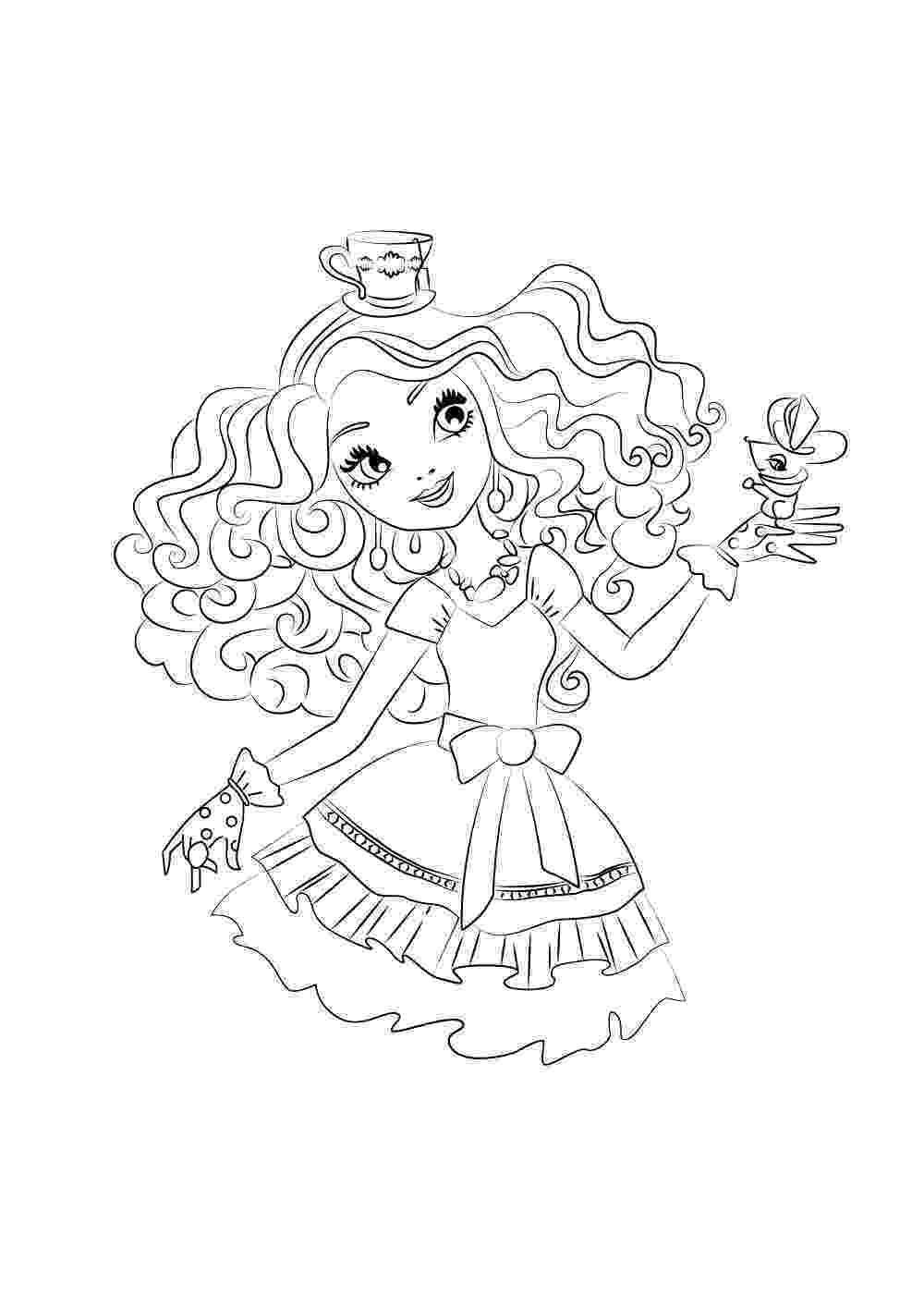 ever after coloring pages ever after high coloring pages getcoloringpagescom pages ever coloring after