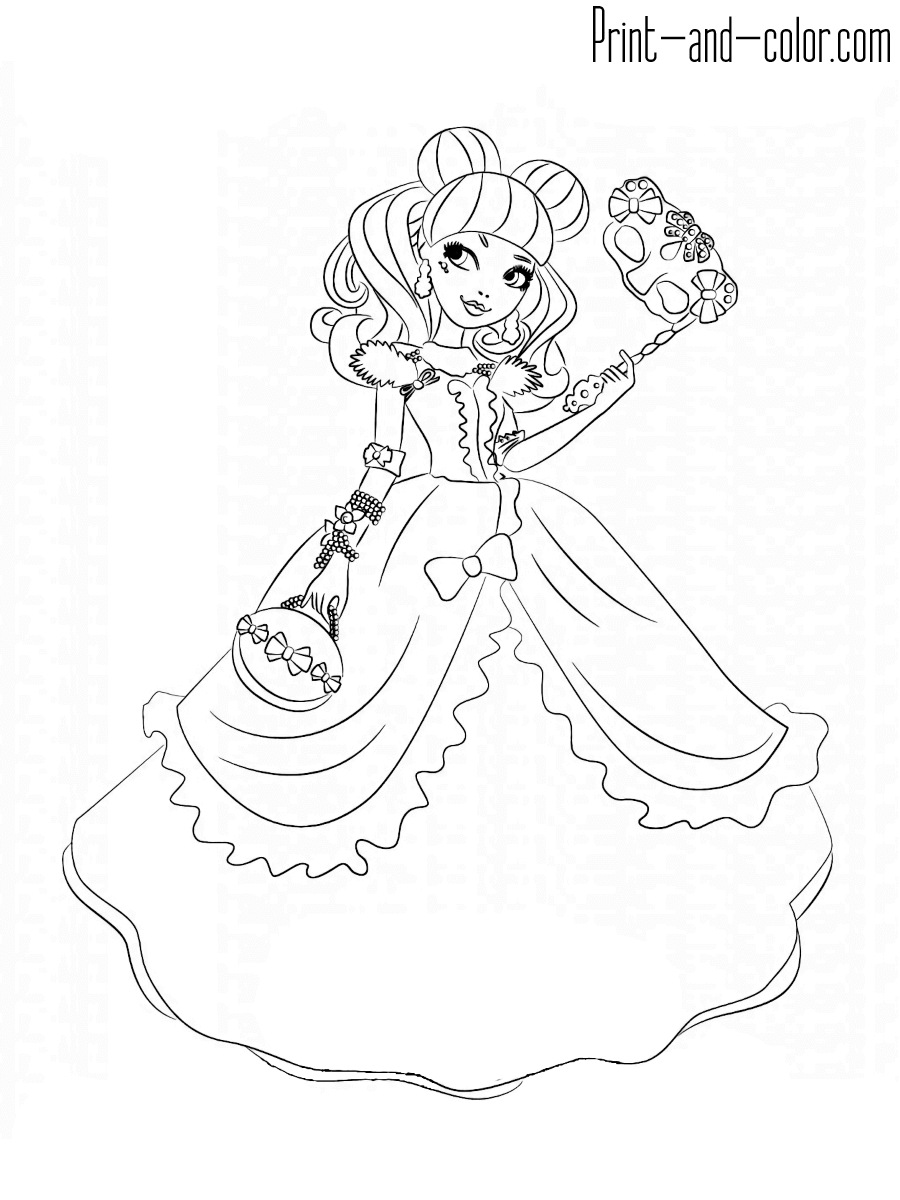 ever after coloring pages ever after high coloring pages kolorowanki franki after pages ever coloring