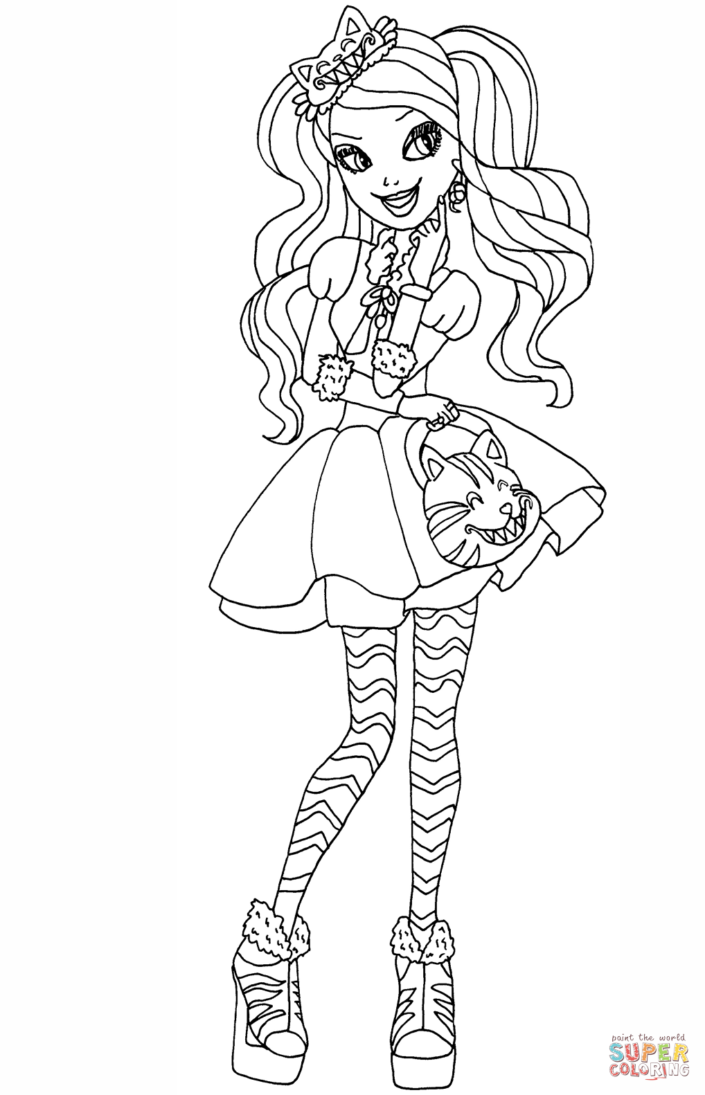 ever after coloring pages ever after high coloring pages print and colorcom after coloring pages ever