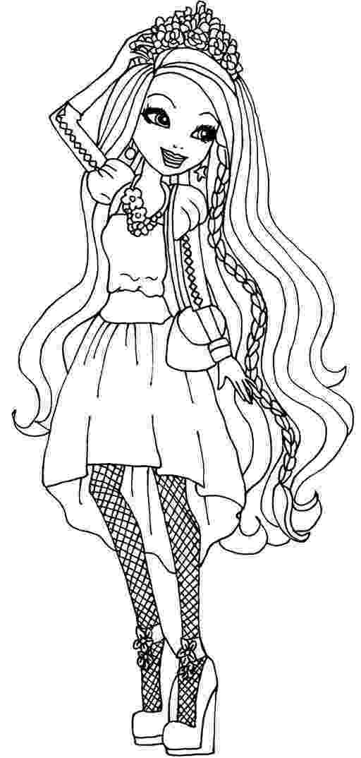 ever after coloring pages ever after high coloring pages print and colorcom pages ever after coloring