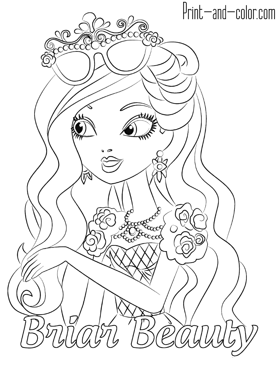 ever after coloring pages ever after high coloring pages to download and print for free pages coloring after ever