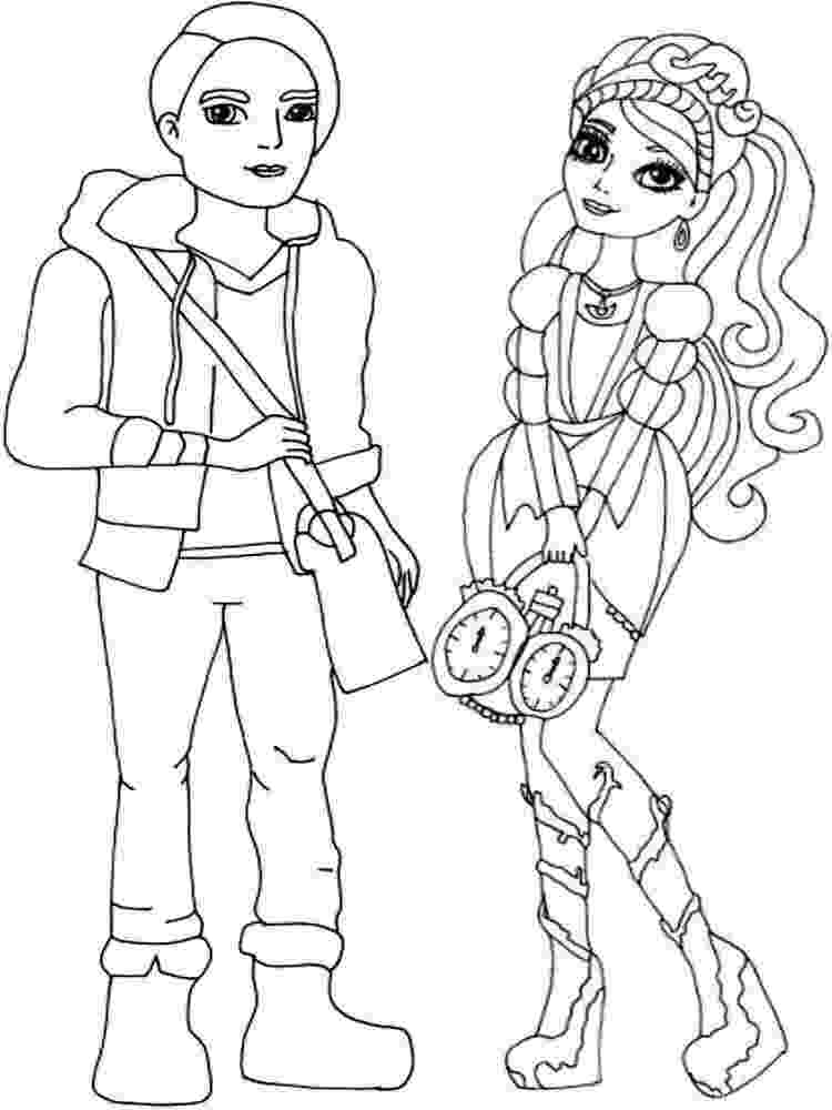 ever after coloring pages lizzie hearts coloring page ever after high ever pages coloring after