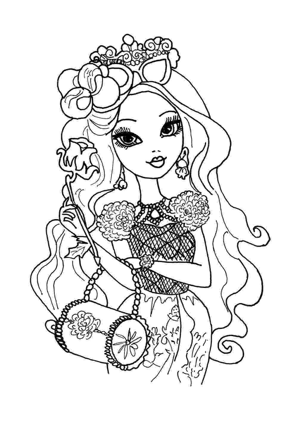 ever after coloring pages top 10 ever after high coloring pages after ever coloring pages