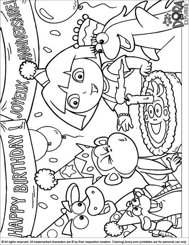 explorers coloring pages dora the explor coloring kids coloring explorers pages
