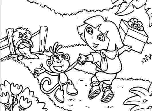 explorers coloring pages dora the explorer to print dora the explorer kids explorers pages coloring
