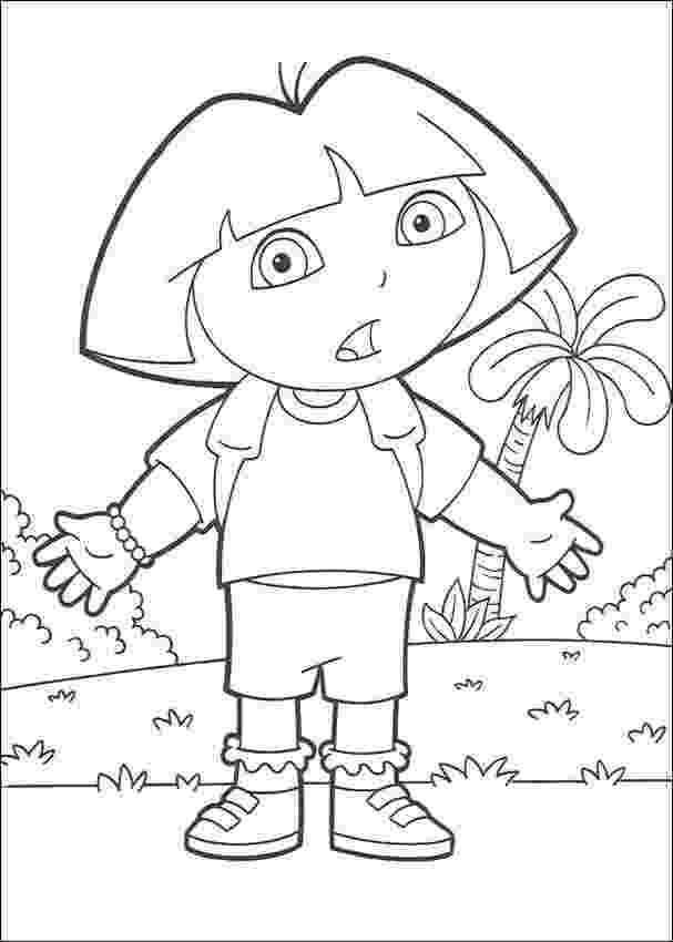 explorers coloring pages free printable dora the explorer coloring pages for kids pages explorers coloring 1 1