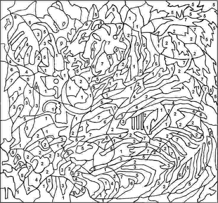 extreme color by number printables hoppy easter here39s a free coloring page from mindware39s by number extreme printables color