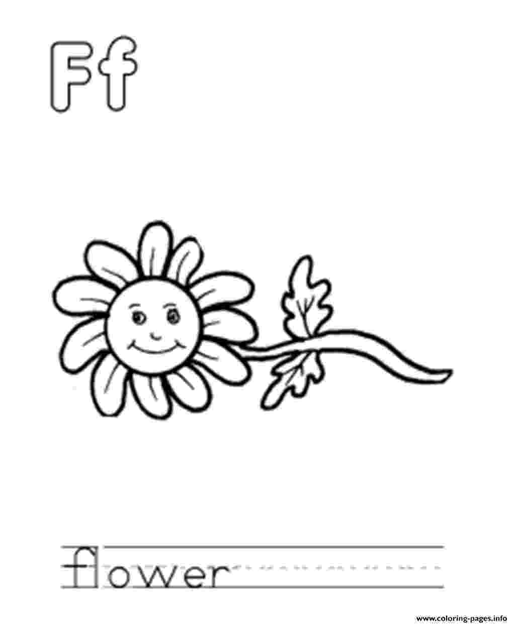 f is for flower letter f is for fall coloring page free printable for is f flower
