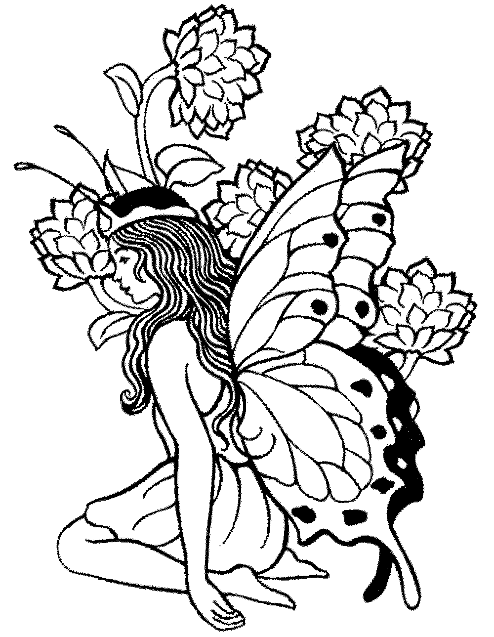 fairy pictures to colour and print fairy coloring pages for adults to download and print for free to fairy print colour and pictures