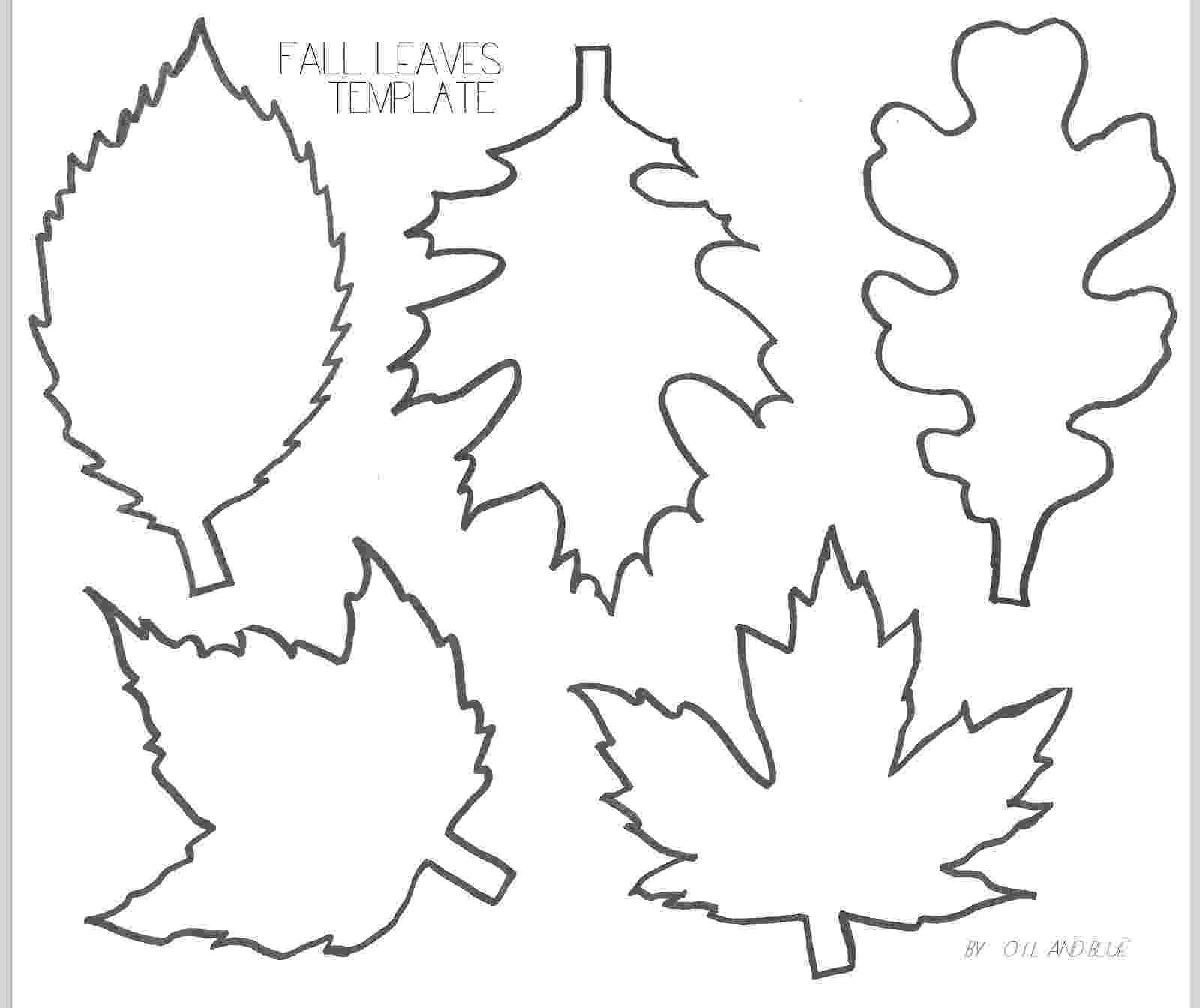 fall leaves print out 4 easy fall garlands  a beautiful mess print leaves fall out