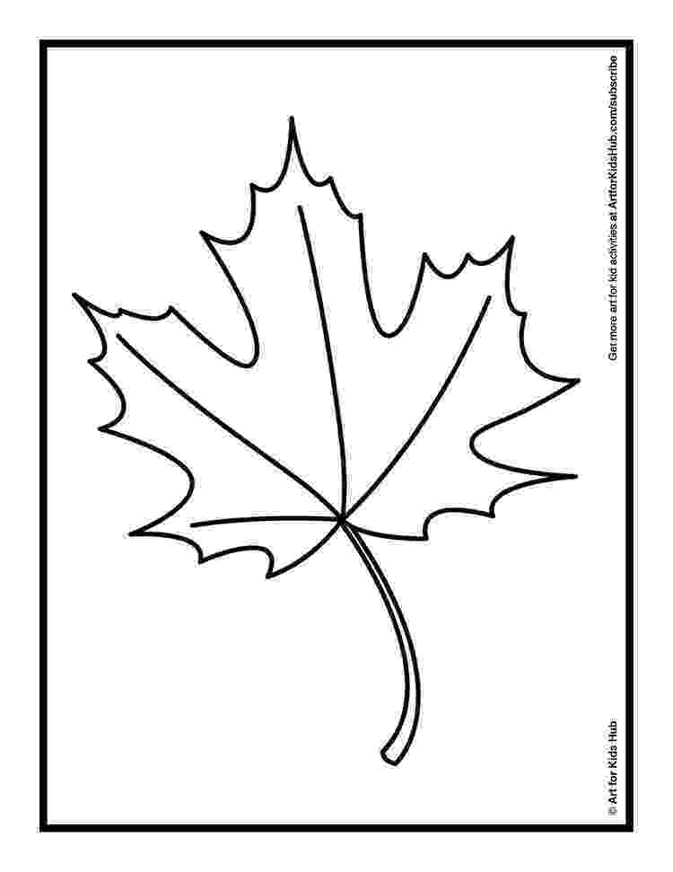 fall leaves print out coloring an autumn leaf with oil pastels art for kids hub fall print leaves out
