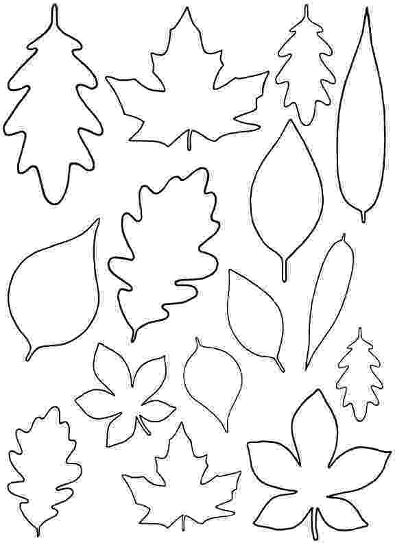 fall leaves print out diy paper leaves free leaf template leaves out print fall