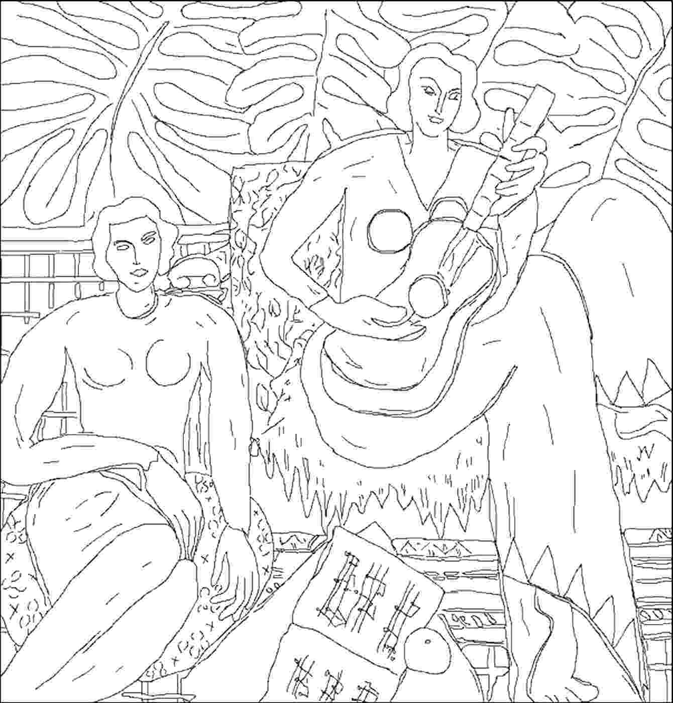 famous artists coloring pages famous art work coloring pages classroom doodles coloring famous pages artists