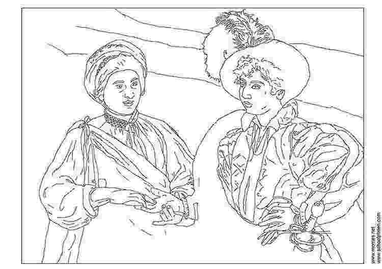 famous artists for kids coloring pages caravaggio famous paintings coloring pages adutl pages kids for coloring artists famous
