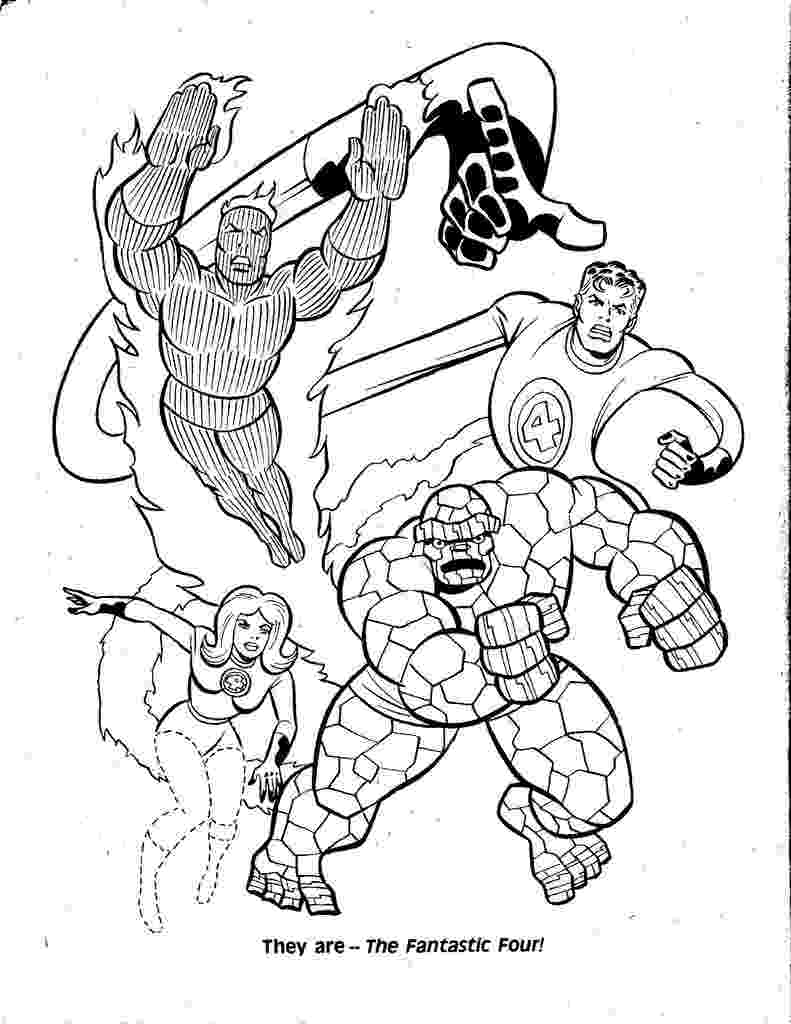 fantastic 4 coloring pictures fantastic four coloring pages to download and print for free pictures fantastic coloring 4