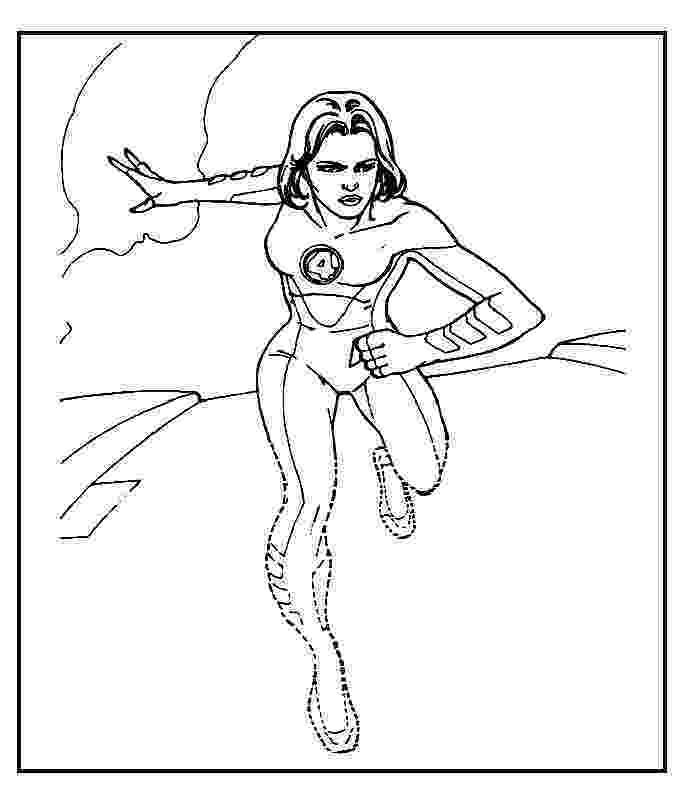 fantastic 4 coloring pictures fantastic four super hero coloring pages pictures coloring 4 fantastic