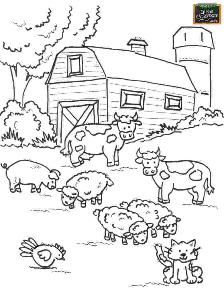 farm coloring pages farm coloring pages 360coloringpages coloring pages farm