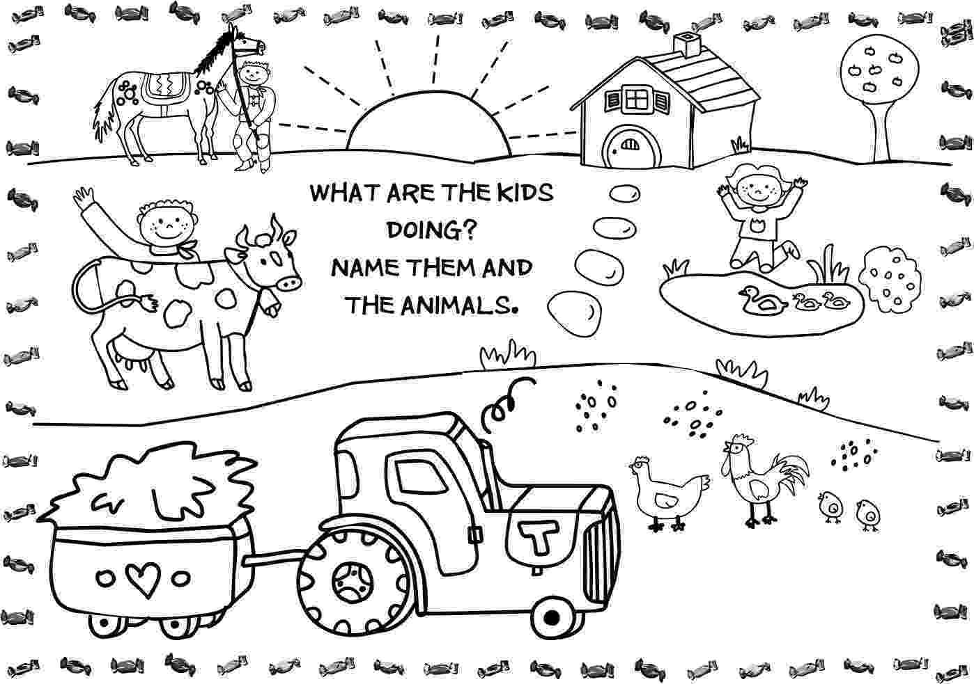 farm coloring pages free printable farm animal coloring pages for kids pages coloring farm