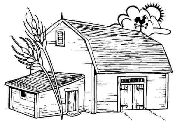 farm house coloring pages color by numbers page farm house color by number for coloring farm pages house