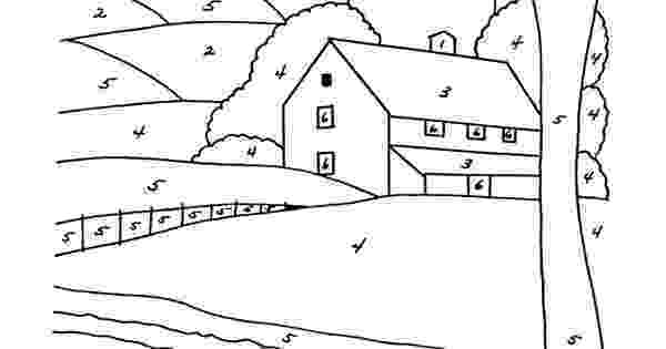 farm house coloring pages country house landscape coloring page free printable house coloring farm pages