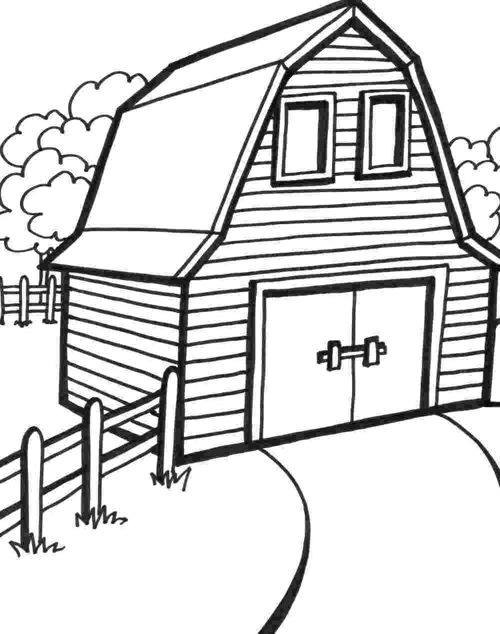 farm house coloring pages diy farm crafts and activities with 33 farm coloring farm coloring house pages